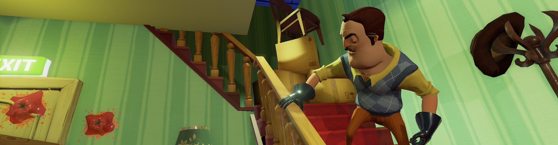 Faaqidaad : Hello neighbor act 1 basement ps4